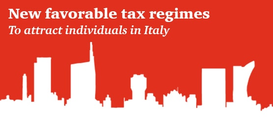 New favorable tax regimes for high net worth individuals